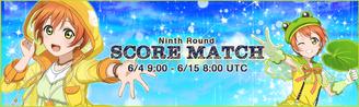Score Match Round 9 EventBanner