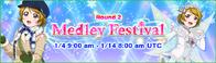 Medley Festival Round 2 EventBanner