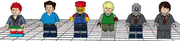 Mecabricks Video Game Characters