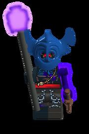 Zombie voodoo priest