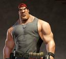 Grit Backwards Red Baseball Cap