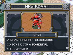 New boss heavy