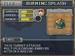 Burning splash preview