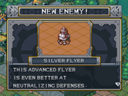 New enemy silver flyer