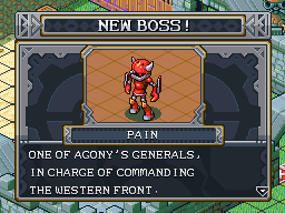 New boss pain