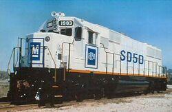 EMD SD50 Demo
