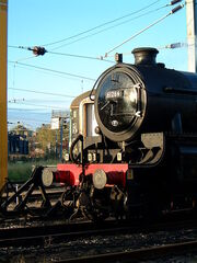 450px-LNER Class B1 steam locomotive No 61264 at Anglia Trains Crown Point depot Norwich (2)
