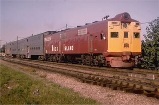 1970's Rock Island Commuter Train