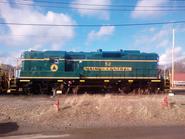 Maine Central 52 GP9 2