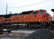 BNSF 882