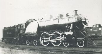 Experimental 4-4-4 steam locomotive
