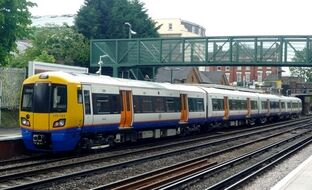 6098356-Overground train Hampstead