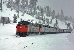 Amtrak FP9