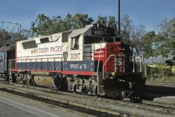 Bicentennial SP GP40P-2