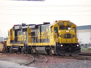 BNSF 4258 GE B23-7