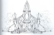 Cathedral exterior settings book
