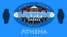 Athena Greece Flag