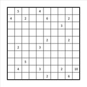 Checkered Fillomino Example