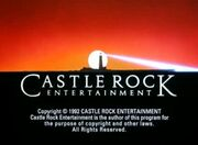 Castle Rock Entertainment Television 1992