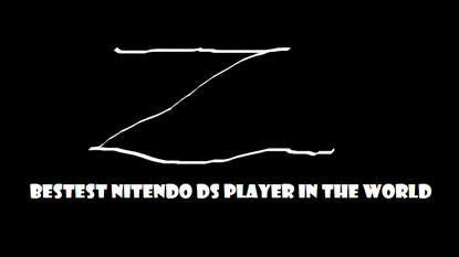 BESTIST NITENDO DS PLAYER IN THE WORLD LOGO