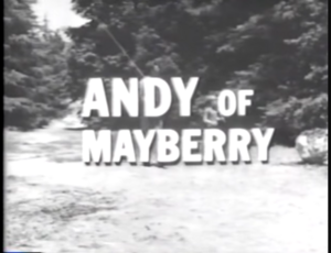 Andy of Mayberry