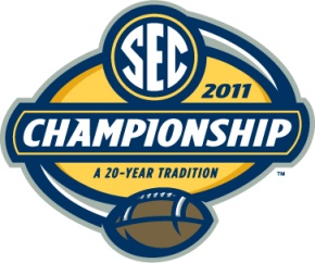 Logo for the 2011 SEC Championship game