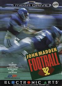 John Madden Football '92 Coverart