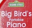 Big Bird's Portable Piano logo