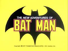 The new adventures of batman logo