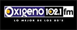 Oxigeno 102.1 FM - Logo 2004