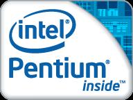 Intel Pentium logo (2009)