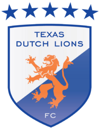 Texas Dutch Lions FC logo