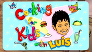Nickelodeon Nick Jr. Cooking for Kids with Luis Logo