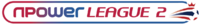 Npower League Two logo (linear)