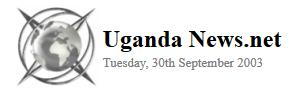 Uganda News.Net 2003