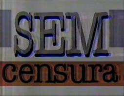 Sem Censura - 1993 logo