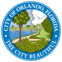 250px-Seal of Orlando, Florida svg