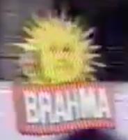 Logotipo de Oferecimento do Futebol na Globo (Janeiro de 2003) Brahma