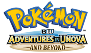 Pokemon Adventures in Unova and Beyond Logo