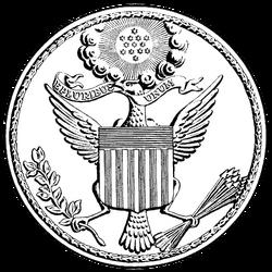 US Great Seal 1782 drawing