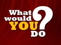 ABC News' Primetime, What Would You Do Video Open From The Early 2010's