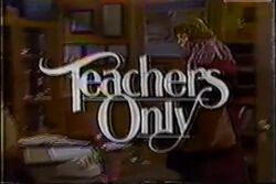 Teachers only