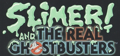 Slimer! and the Real Gohstbusters logo