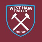 New West Ham United FC logo (claret and blue v2)