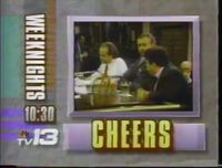 WVTM-TV 13 Cheers promo 1991