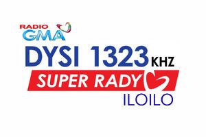 GMA Super Radyo DYSI 1323 Iloilo 2014 logo