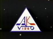 AK Video VHS Logo
