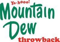 Mountain dew throwback logo