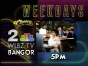 WLBZ-TV's Cheers Video ID From Late 1991