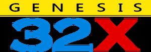 Genesis 32X logo USA